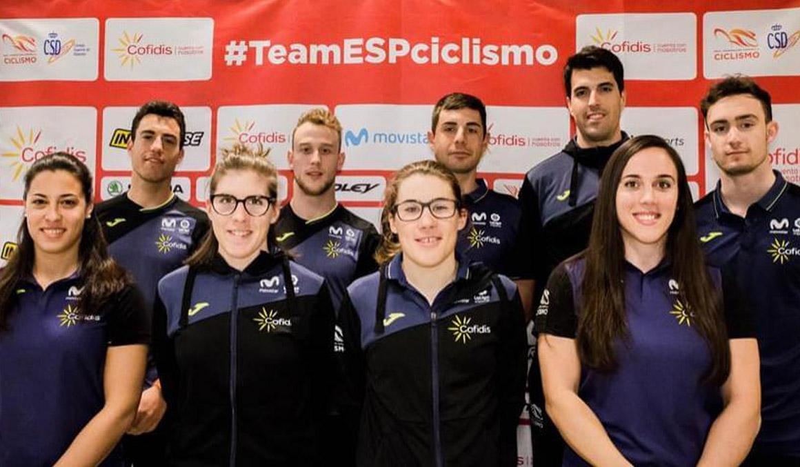 Convocatoria de la Selección Española para el Campeonato del Mundo de Pista 2019