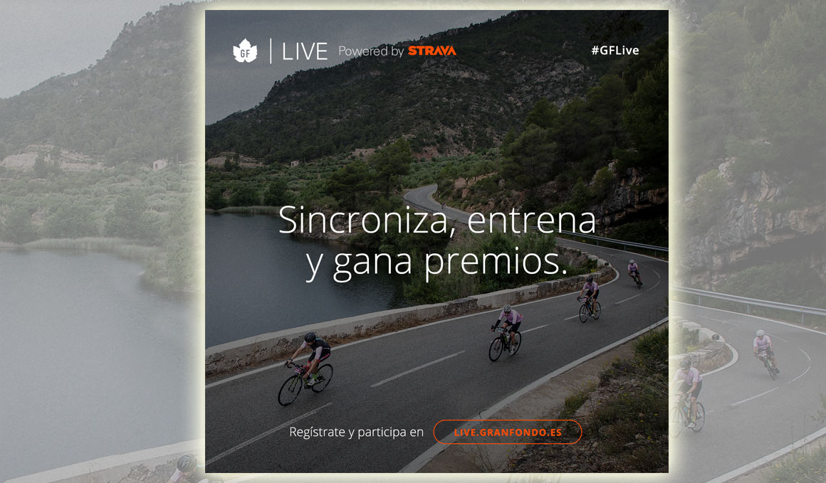 GF Live powered by Strava