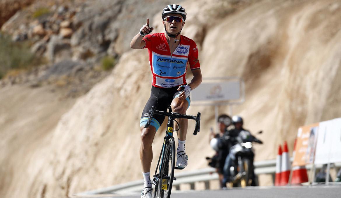 Tour de Omán: Lutsenko gana en Green Mountain y deja casi sentenciada la general