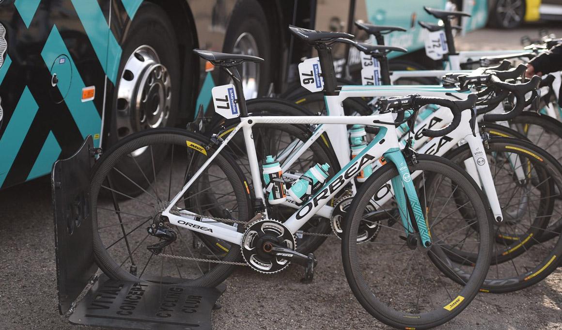 Vuelta a Andalucía: roban doce bicicletas al Vital Concept