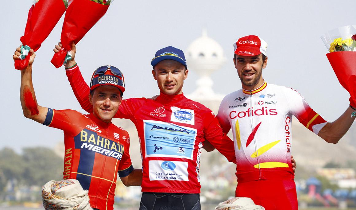 Lutsenko conquista, de nuevo, el Tour de Omán