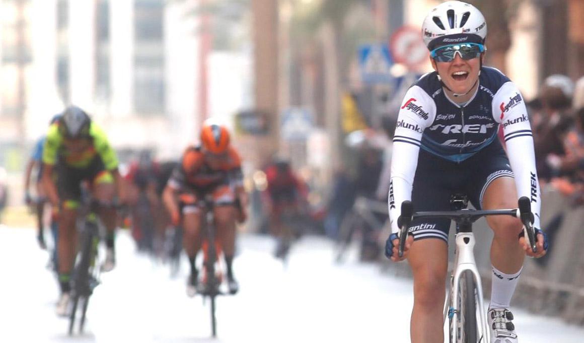 Mavi García, 4ª, cerca de la victoria en la Setmana Ciclista Valenciana