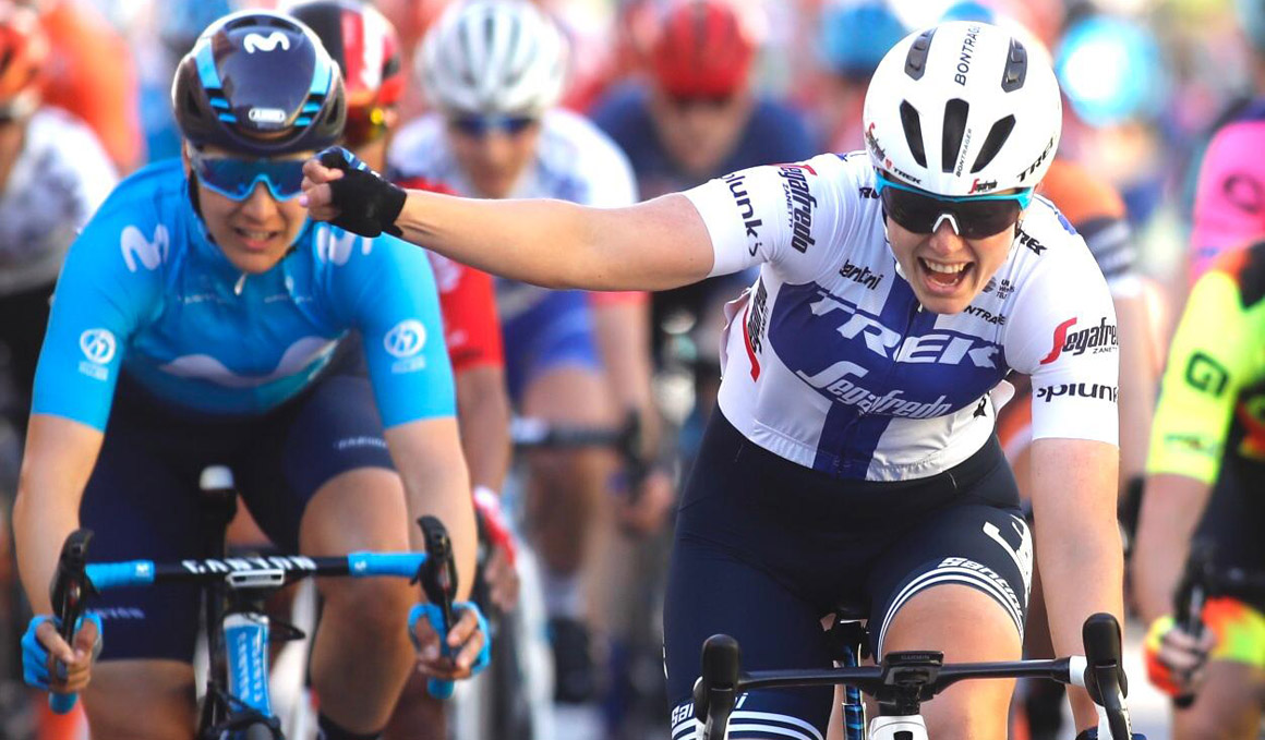 Setmana Valenciana: victoria de Lepistö al sprint con Roxane Fournier 4ª