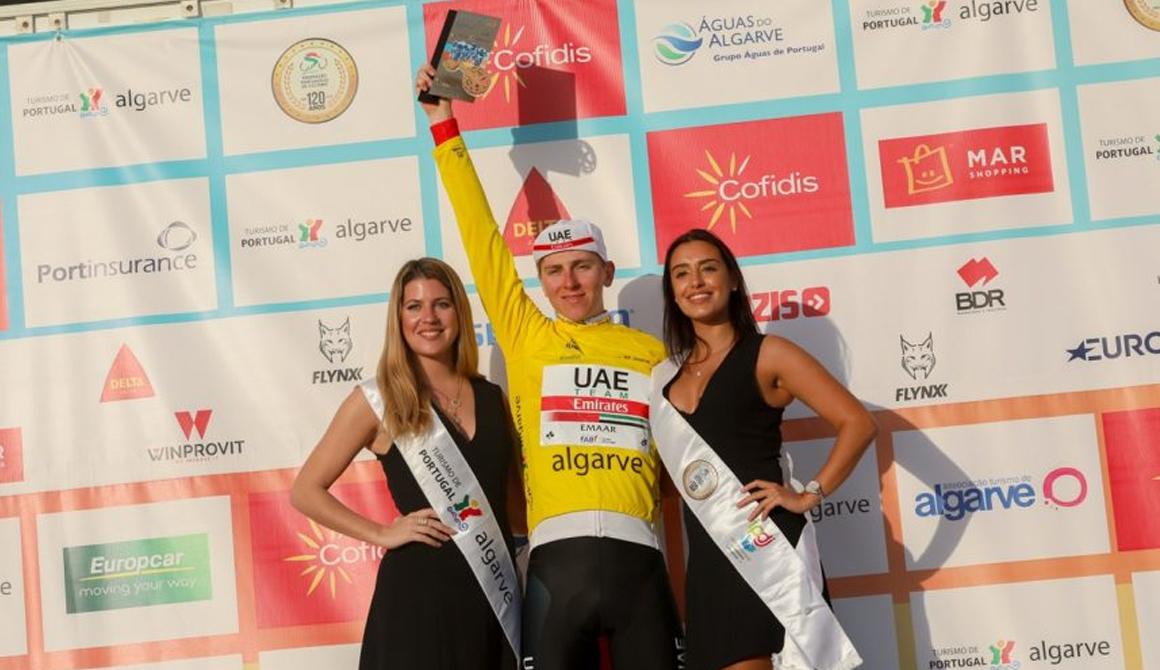 La sensación eslovena Tadej Pogacar conquista la general final de la Volta ao Algarve
