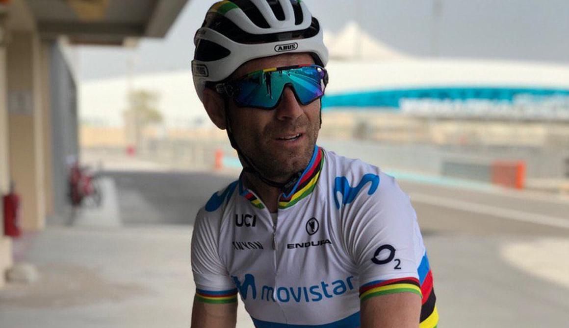 """Alejandro Valverde:""""Nada me haría más feliz que el Mundial, pero quiero ganar Flandes"""""""