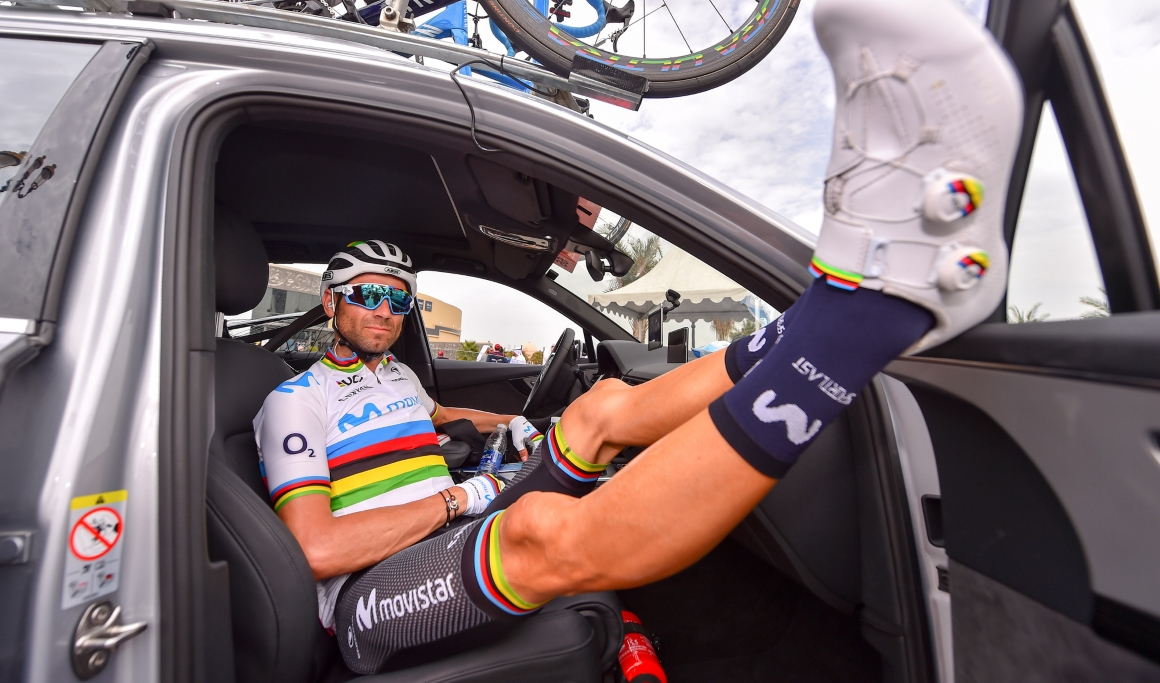 """Valverde:""""Mañana se decide la carrera, Roglic está fuerte pero lo intentaré"""""""