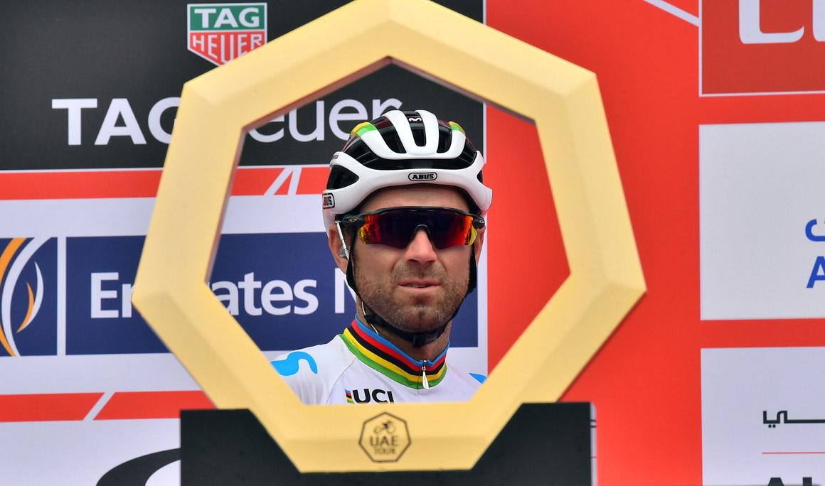 """Valverde:""""No me he sentido en la subida como me hubiera gustado"""""""