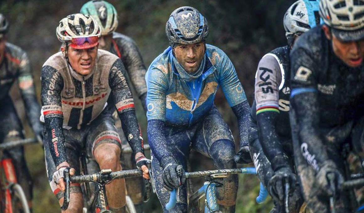 Valverde no participará en la Strade Bianche al no recuperarse de un proceso febril