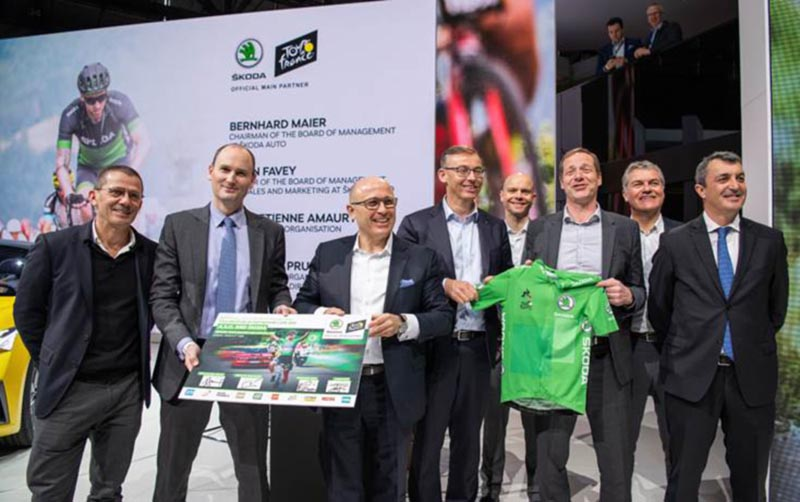 ŠKODA extiende el patrocinio con A.S.O. hasta 2023