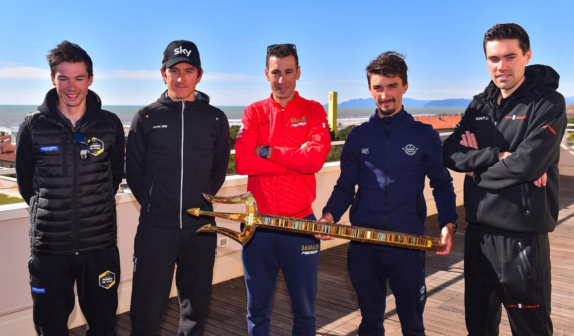 Roglic, Dumoulin, Thomas y Nibali, aspirantes al reinado en la Tirreno-Adriático