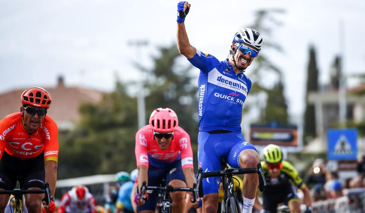 Tirreno-Adriático: Alaphilippe no se cansa de ganar
