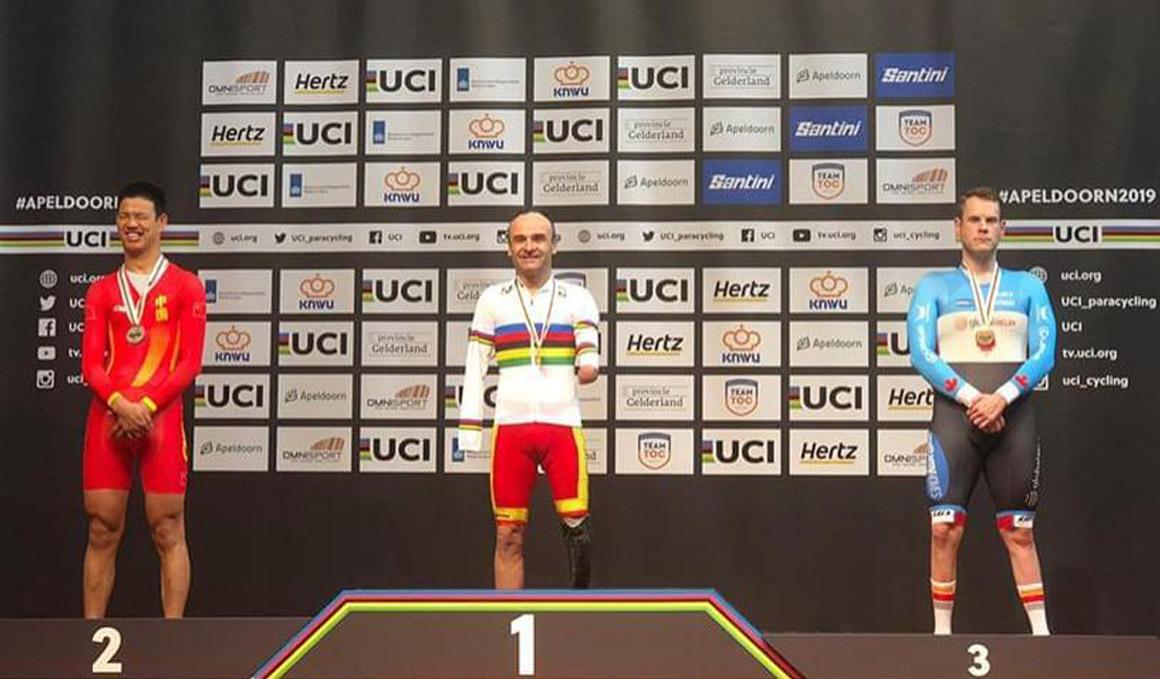 Mundial de Pista de Ciclismo Adaptado: 3 medallas y un récord del mundo para España