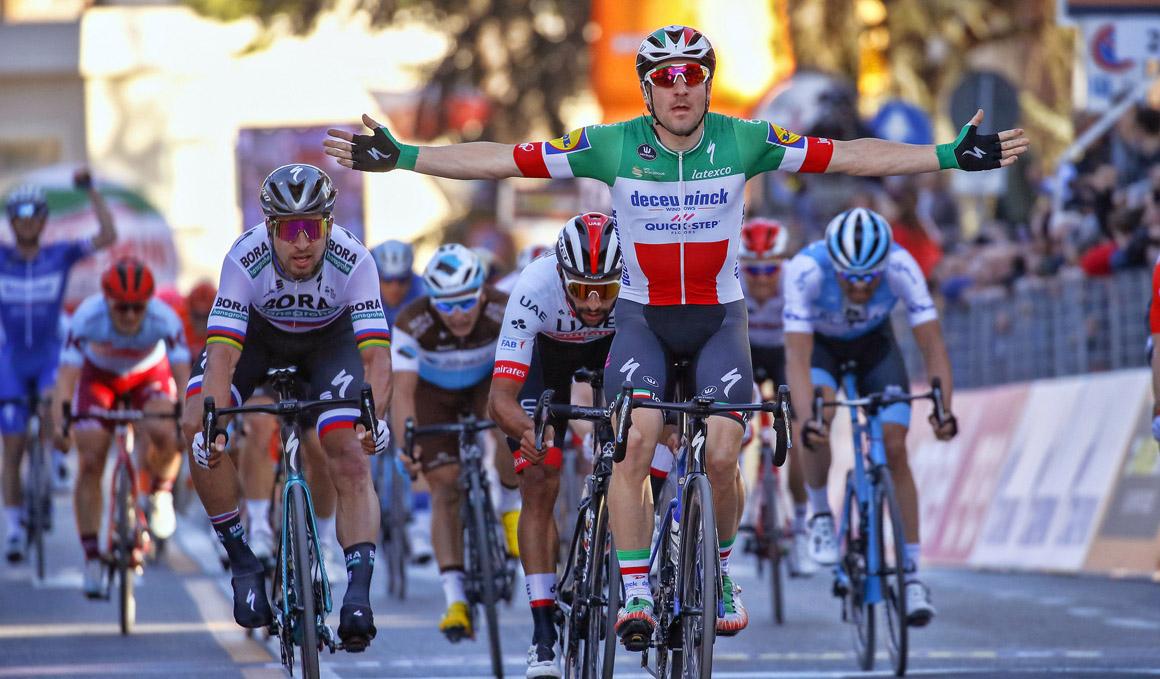 Tirreno-Adriático: Viviani suma un nuevo triunfo ante Sagan y Gaviria