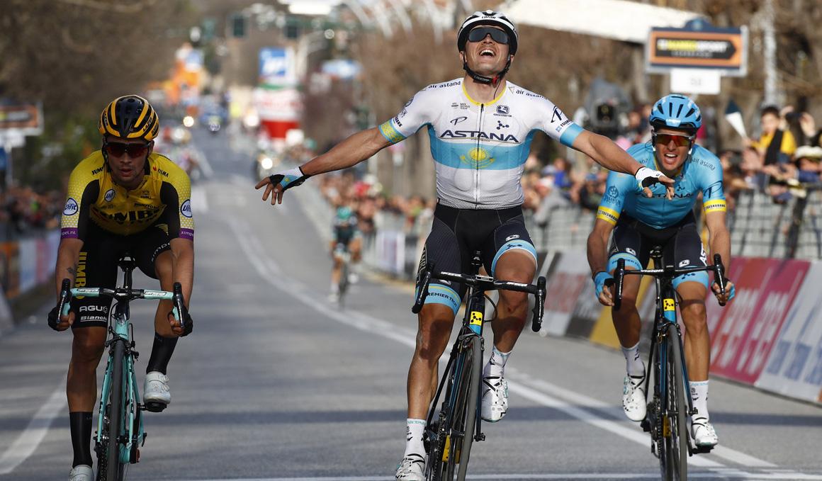 Un descomunal Lutsenko se lleva la 4ª etapa de la Tirreno-Adriático