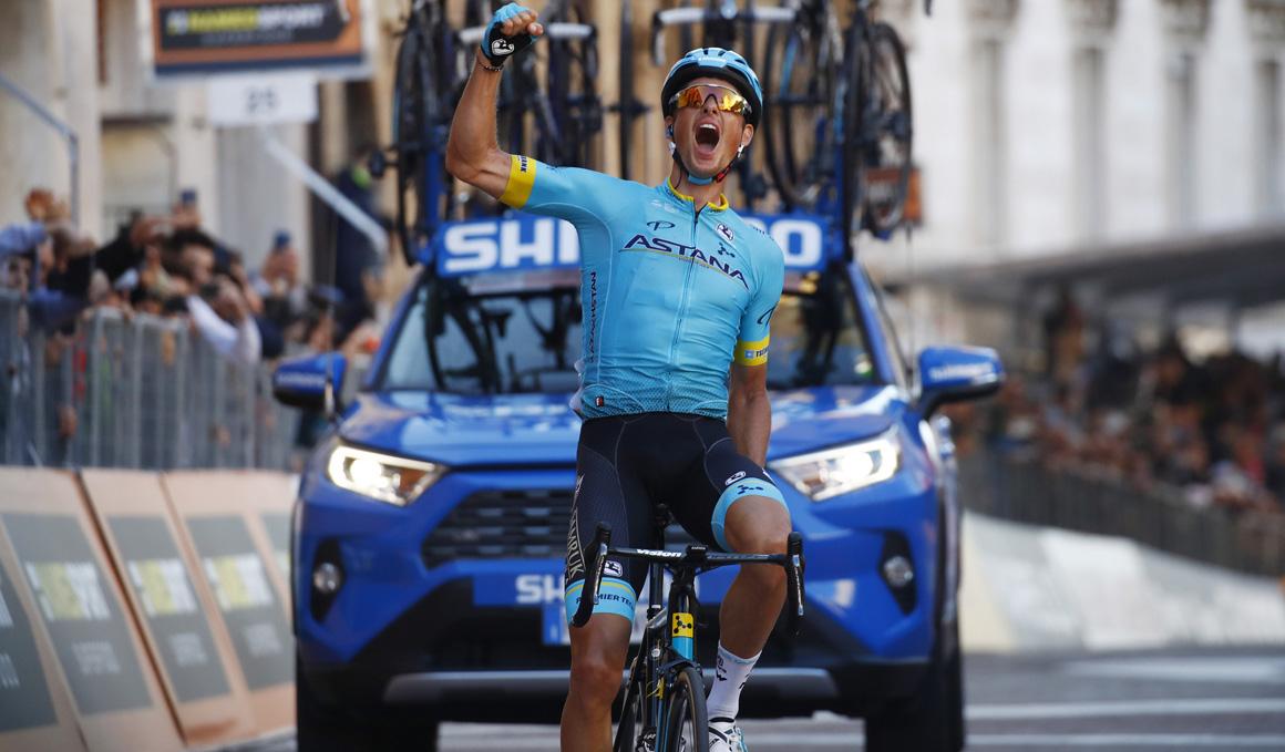 Fuglsang redondea el fin de semana perfecto de Astana en la Tirreno-Adriático