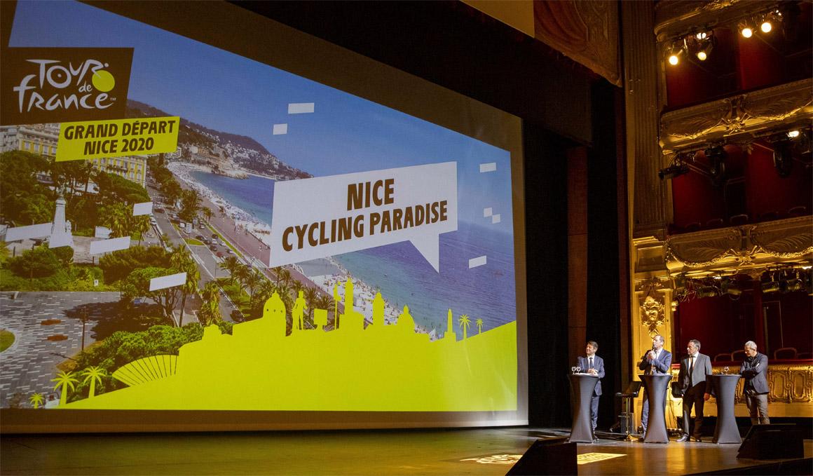 Montaña de inicio en el Tour 2020