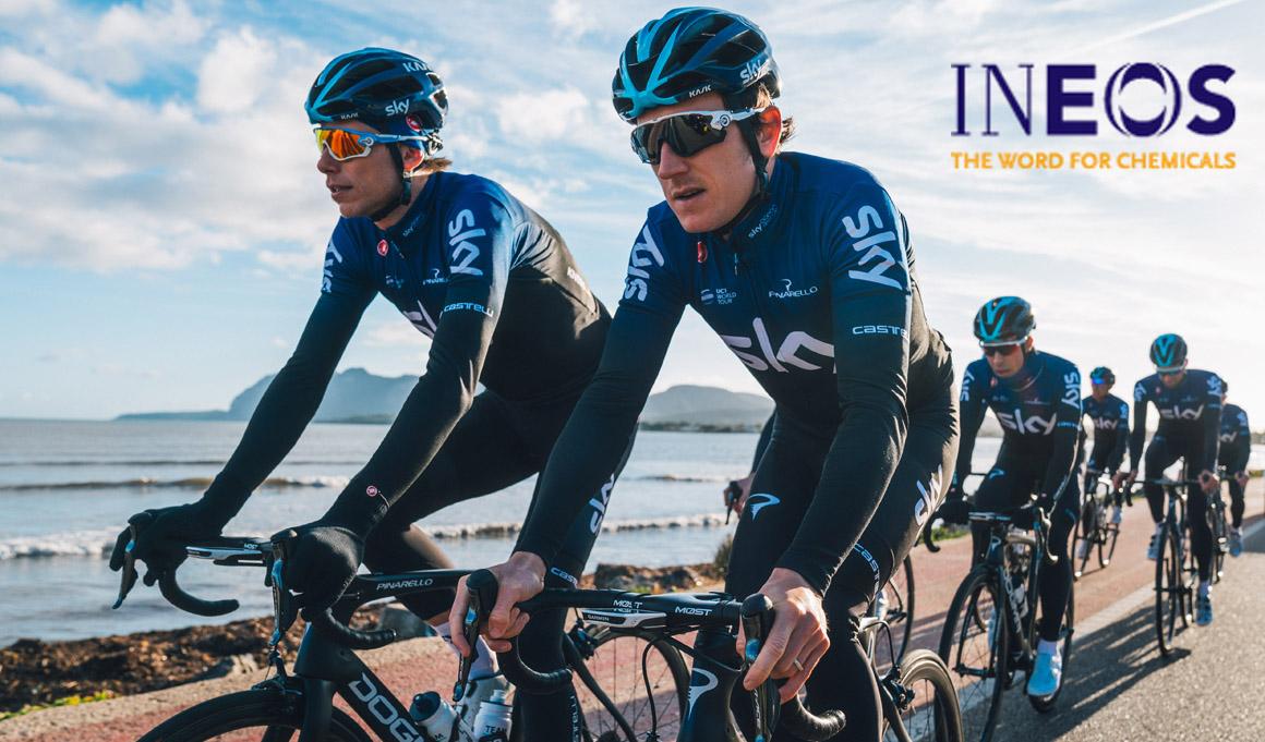 Cambio de patrocinador en Team Sky: será Team Ineos desde el 1 de mayo
