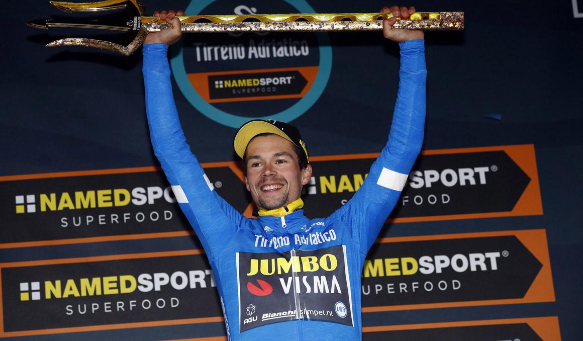 Primoz Roglic conquista la Tirreno-Adriático... ¡por un segundo!