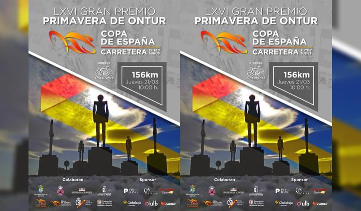 El G. P. Primavera de Ontur se estrena este jueves en la Copa de España Élite-Sub23