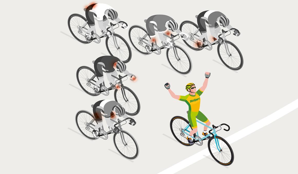 Ciclismo sin dolor, ¡es posible!
