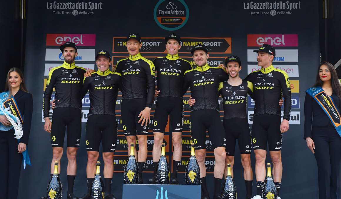 Mitchelton-Scott: poder australiano en el World Tour