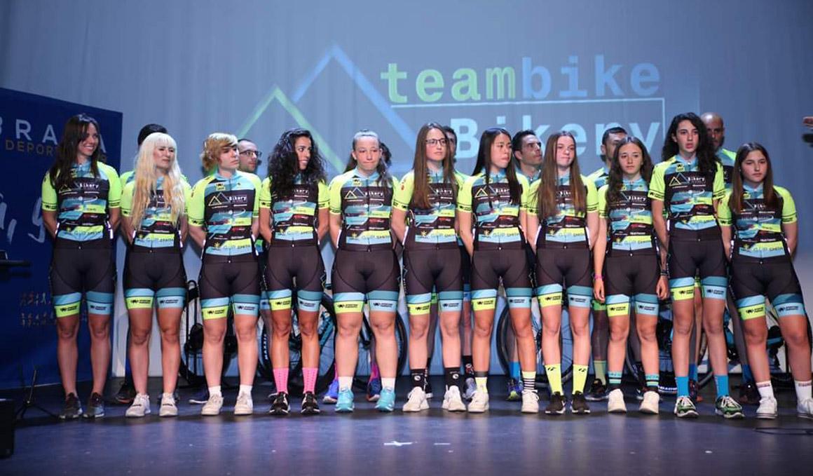 Presentado el equipo femenino Team Bikery-Sporting Pursuits