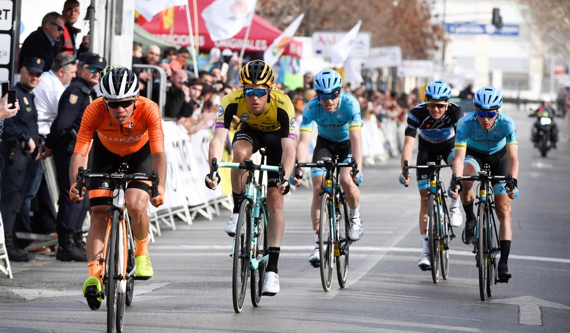 El colombiano Higuita gana la cuarta etapa de la Volta al Alentejo