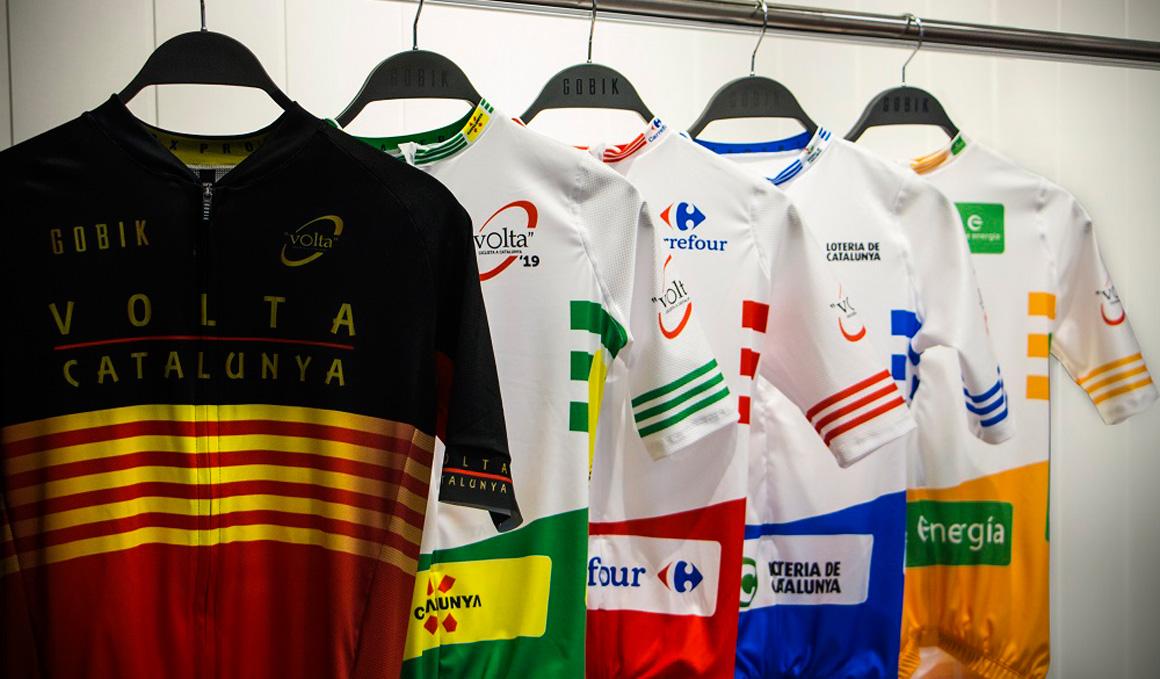 Los maillots de la Volta a Catalunya