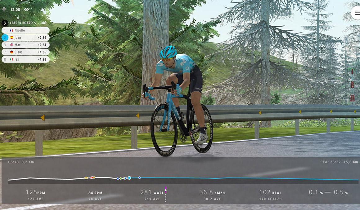 Arrancan las inscripciones para Movistar Virtual Cycling