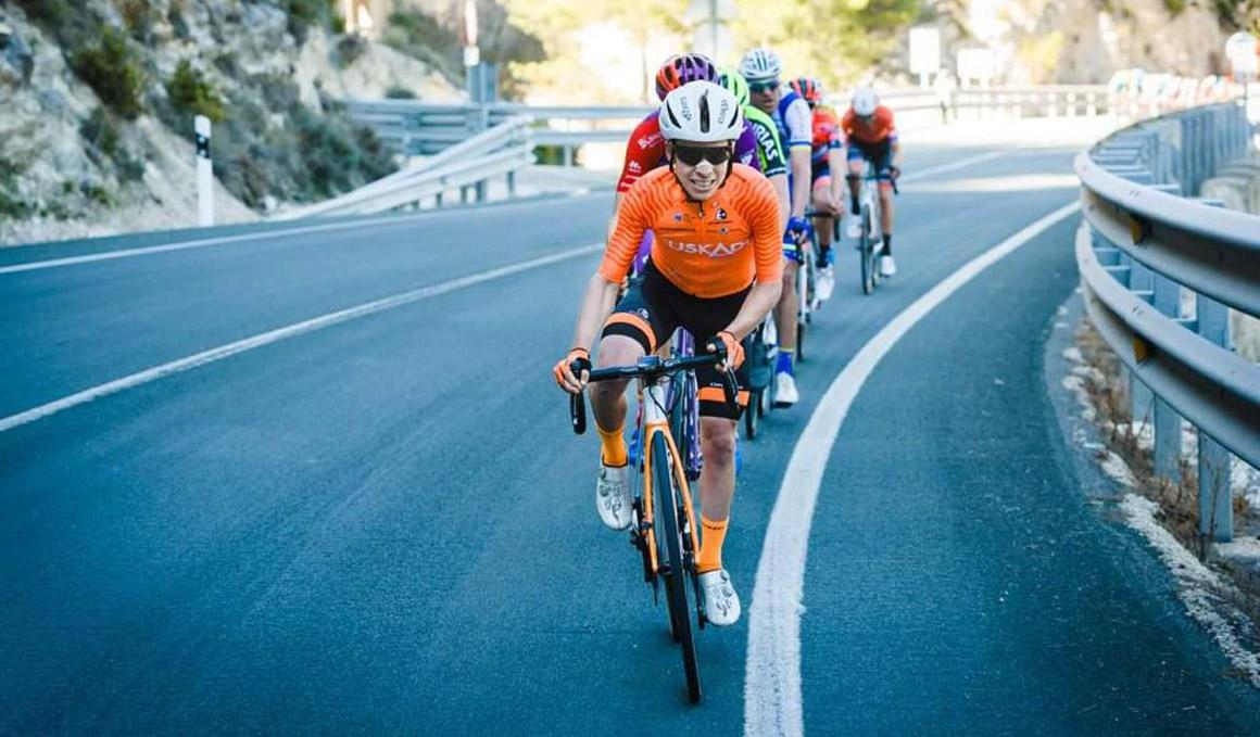 Ibai Azurmendi: el ciclista a gran escala