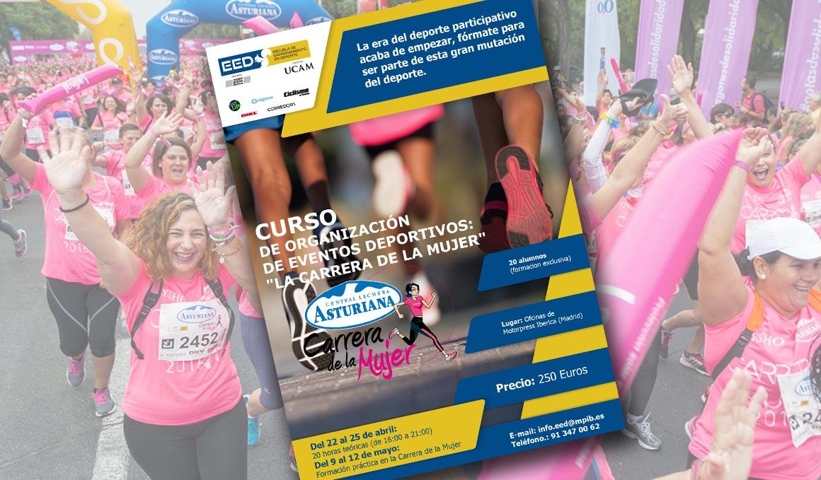 """Curso de organización de eventos deportivos: """"La Carrera de la Mujer"""""""