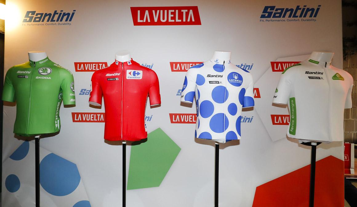 Presentados los maillots de La Vuelta 2019