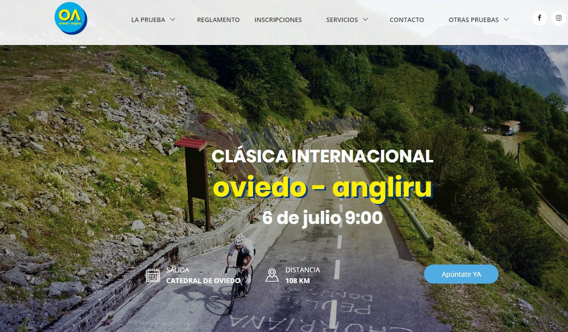 Todo listo para la marcha Cicloturista Oviedo-Angliru