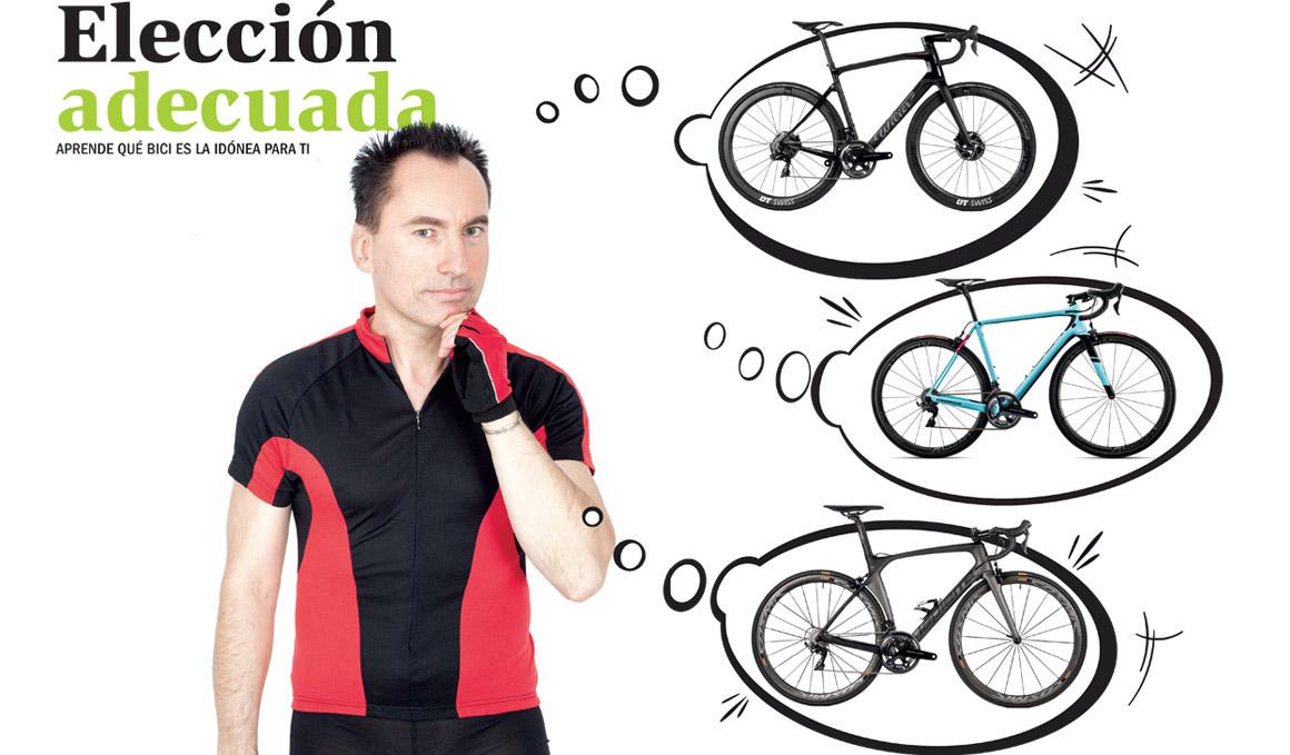 ¿Qué tipo de bici es la idónea para ti?