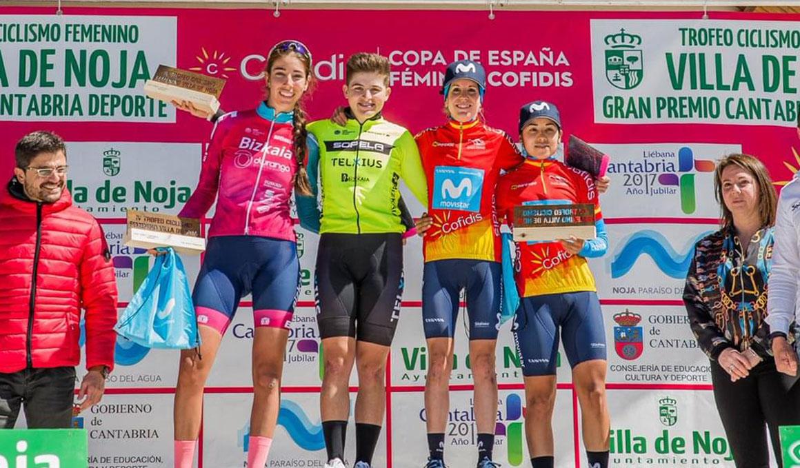 María Martins se lleva la victoria en Noja