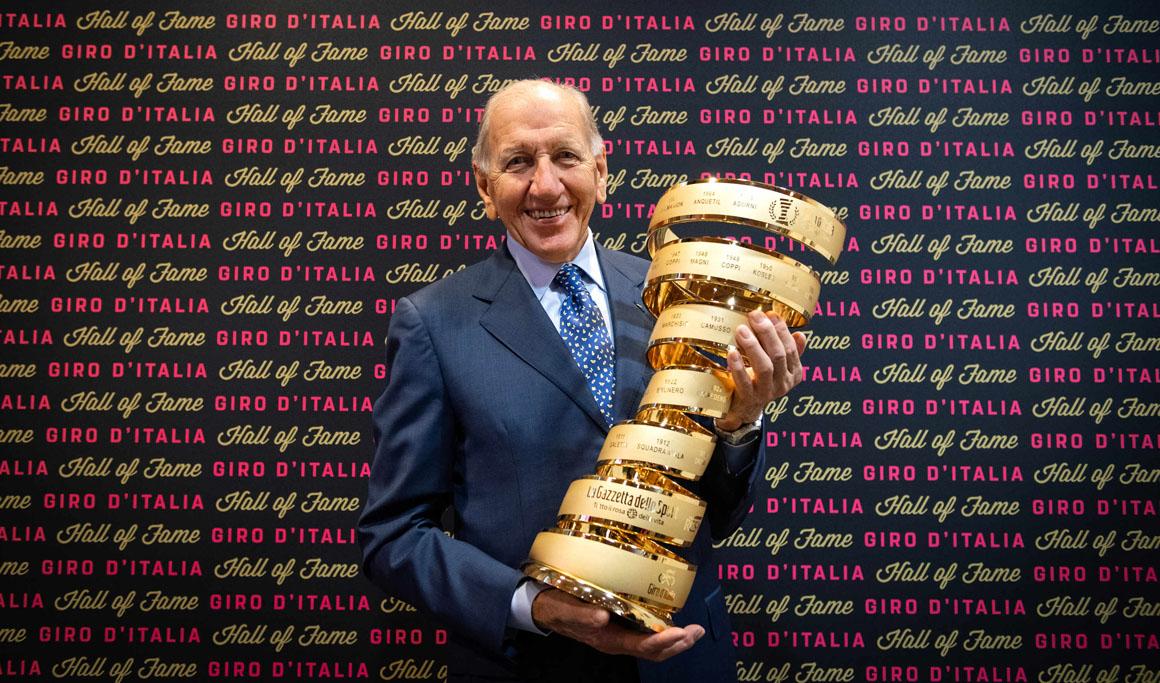 Vittorio Adorni ingresa en el Salón de la Fama del Giro