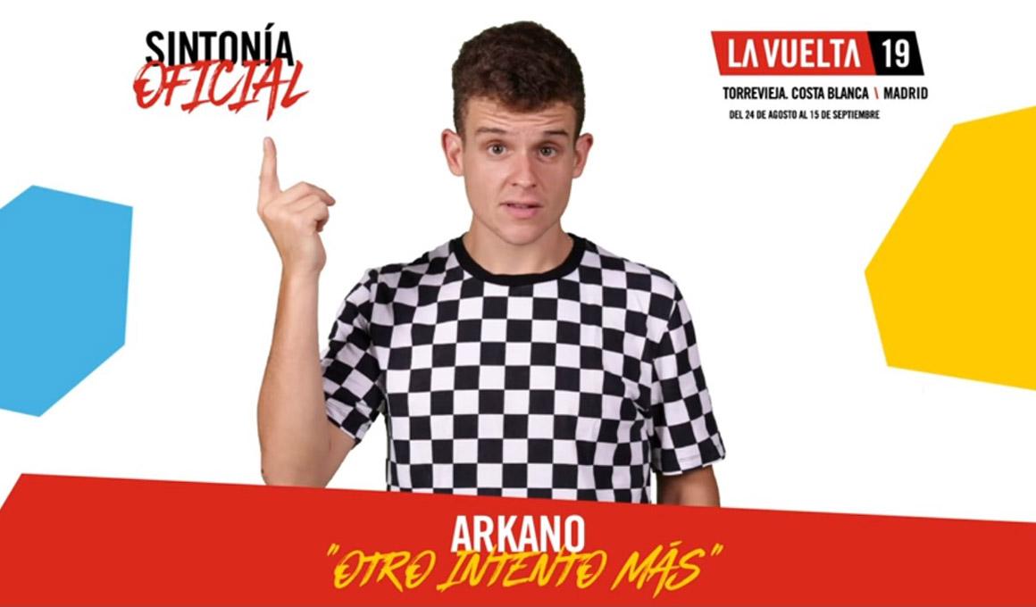 """""""Otro intento más"""", de Arkano, sintonía de la Vuelta 2019"""