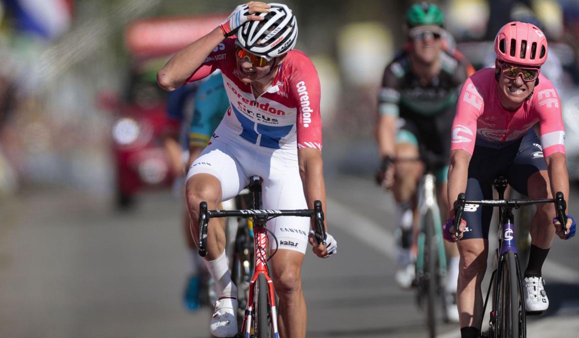 Descomunal victoria de Mathieu Van der Poel en la Amstel Gold Race