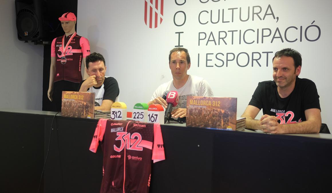 "Pedro Horrillo presenta el libro de la ""Mallorca 312"""