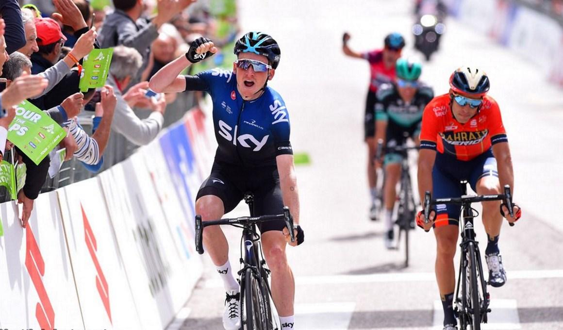 Pleno del Sky: Tao gana la etapa; Sivakov aguanta el liderato ante los ataques de Nibali