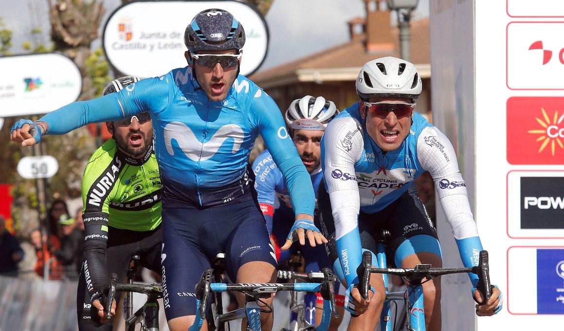 Barbero penalizado en un polémico final;  Cimolai, primer líder de la Vuelta a Castilla y León