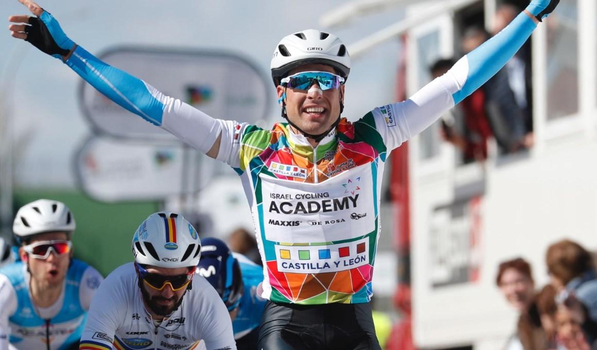 Cimolai repite victoria y afianza su liderato en la Vuelta a Castilla y León