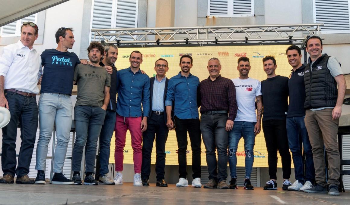 Contador encabezará un pelotón de 8.000 ciclistas en la Mallorca 312