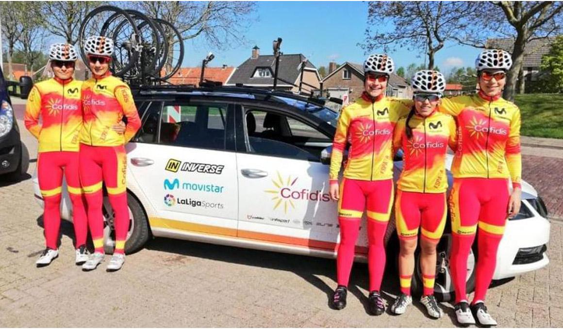 Eraso, la mejor española en la crono inaugural de la EPZ Omloop Van Borsele