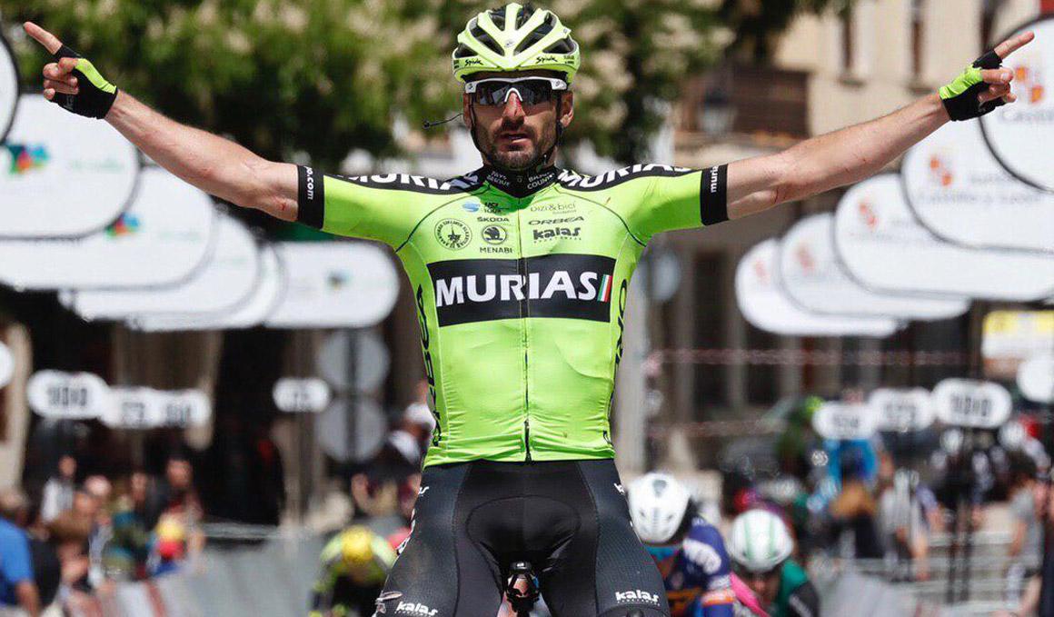 Sanz se lleva la última etapa de una Vuelta a Castilla y León en manos de Cimolai