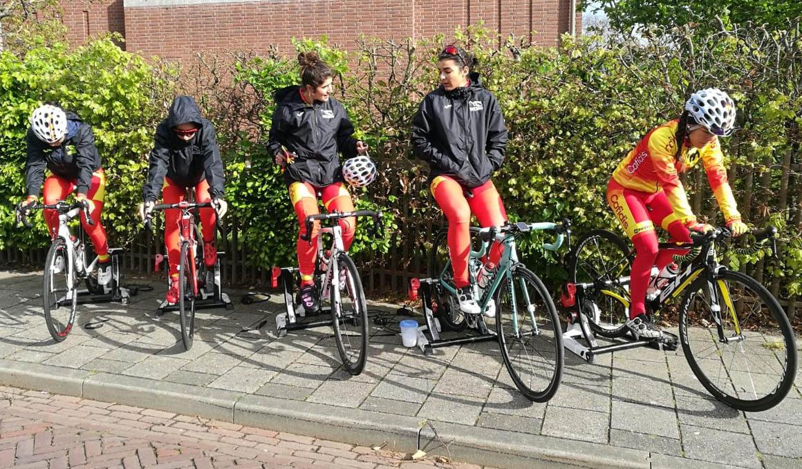 Buena actuación de Anguela en la segunda jornada del EPZ Omloop Van Borsele