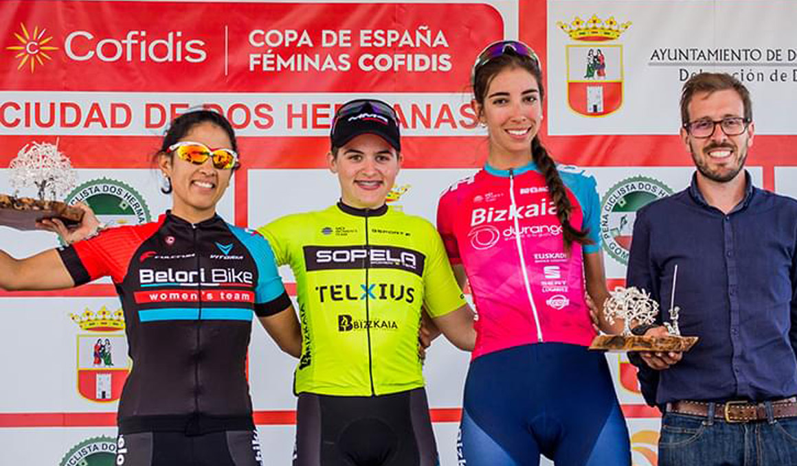 Segunda victoria para Martins en la Copa de España Féminas Cofidis