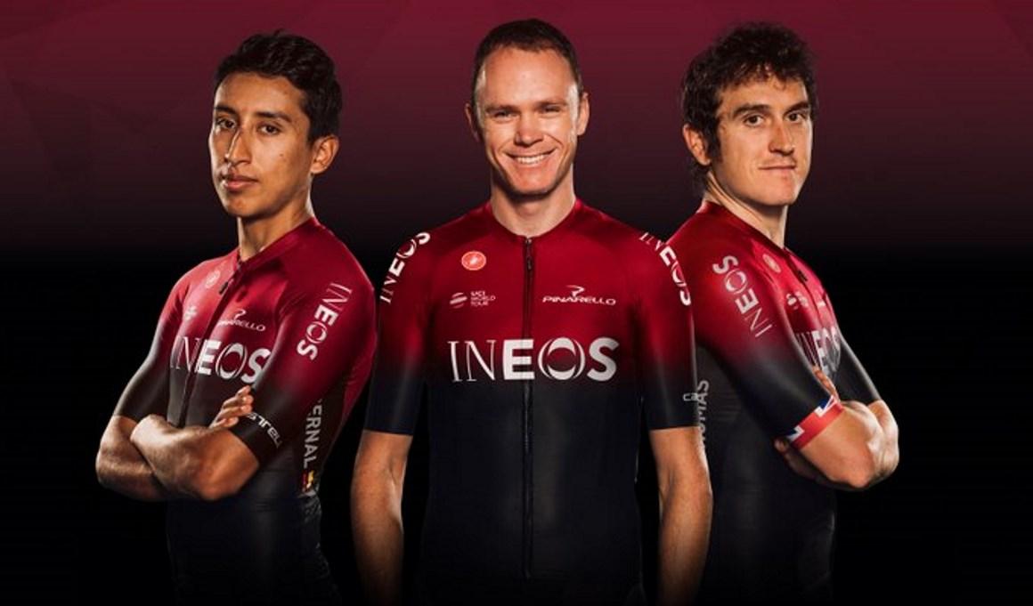 Team Ineos presenta su nueva equipación