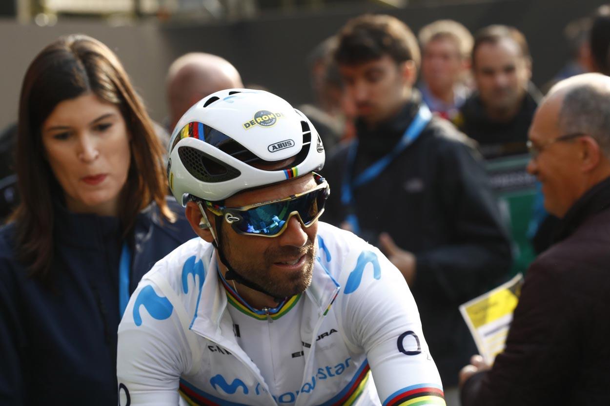 Alejandro Valverde no estará en el Giro de Italia