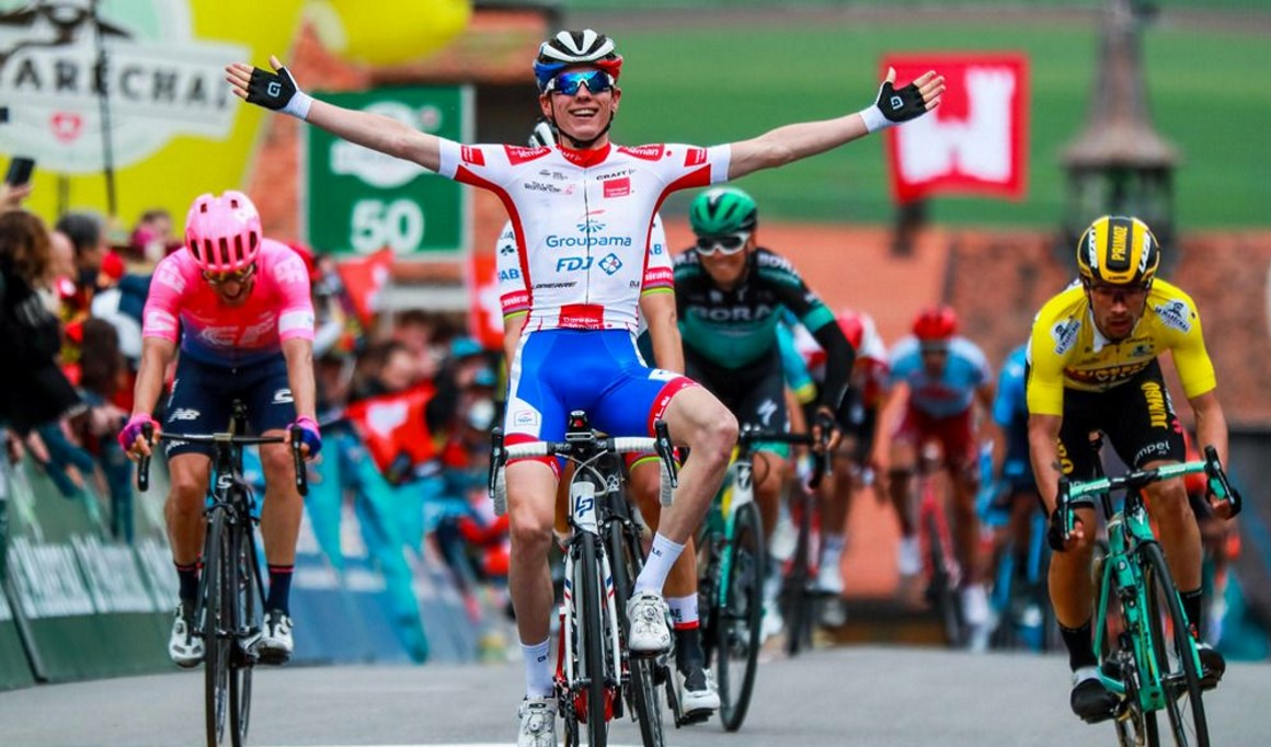 Tour Romandía: Gaudu se coloca segundo tras imponerse en la etapa